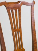 The fluted back to this Harris chair resonates with care