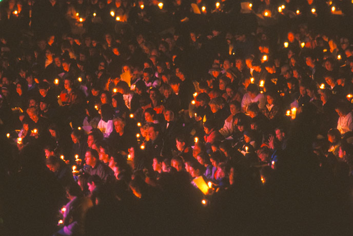 The community came together for one final tribute to the victims of Columbine.